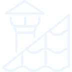 Residential and Commercial Roof Icon
